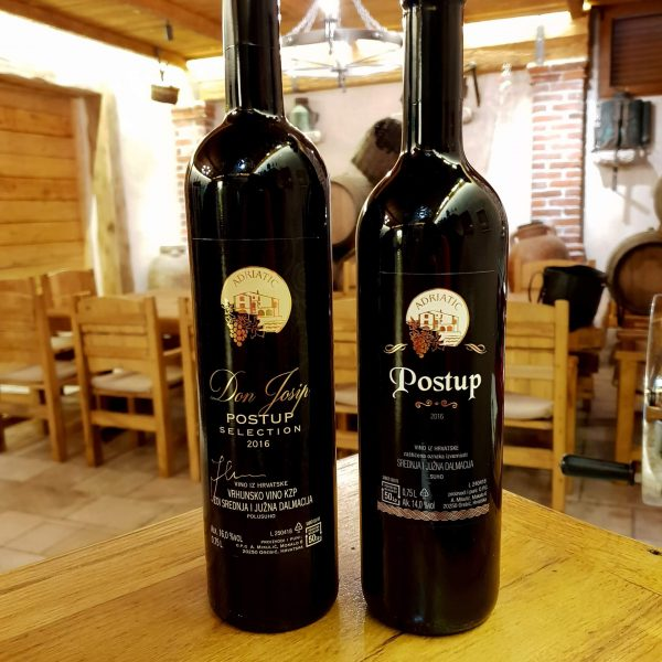 Boutique winery Mikulic don josip and postup