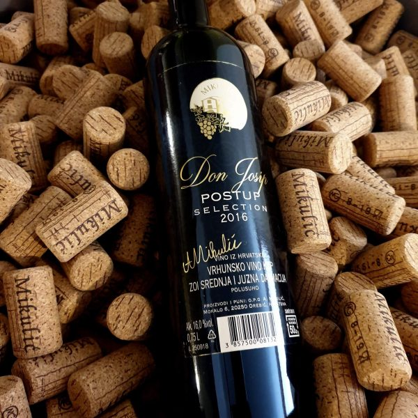 Boutique winery Mikulic don josip wine