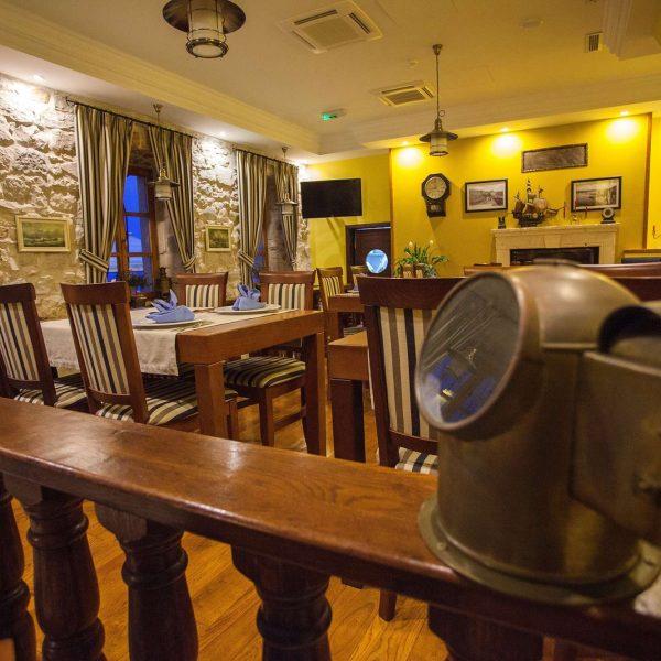 restaurant interior boutique hotel adriatic