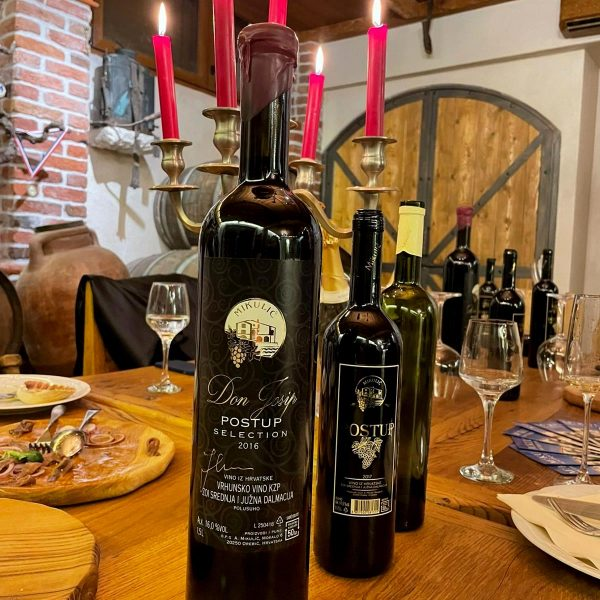 Boutique winery Mikulic postup