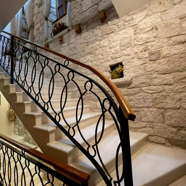 Heritage hotel Adriatic Orebic staircase